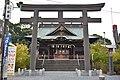 Raiden-jinja (Itakura) Torii2.jpg