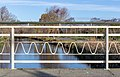 Railing on a bridge at Swanns Rd Red Zone, Christchurch, New Zealand.jpg