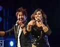 Rajesh Payal Rai and Anju Panta, Sydney 2014.jpg