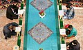 Ramadan 1439 AH, Qur'an reading at Grand Musalla of Ardabil - 23 May 2018 02.jpg