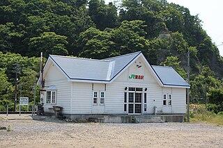 Ranshima Station Railway station in Otaru, Hokkaido, Japan