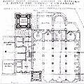 Rapallo-basilica ss gervasio e protasio-planimetria chiesa e campanile (1753).jpg