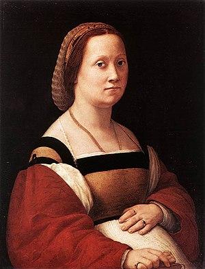 La donna gravida - Image: Raphael La Donna Gravida(1505 1506)