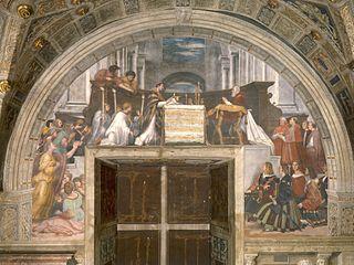 <i>The Mass at Bolsena</i>