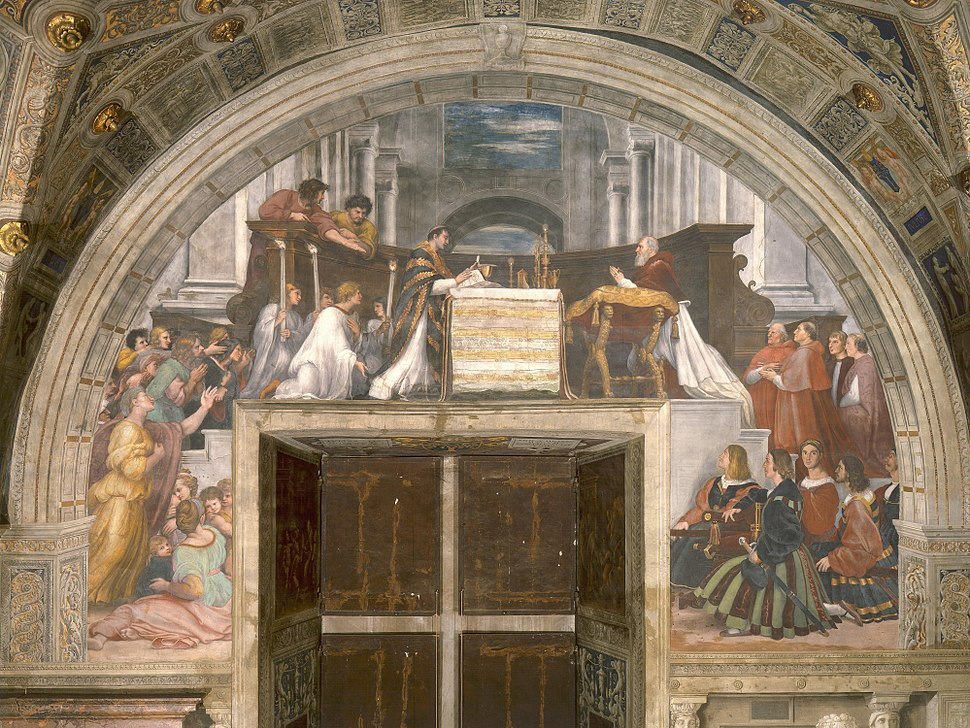 Raphael - The Mass at Bolsena