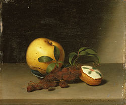 Raphaelle Peale: Still Life with Cake