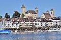 Rapperswil - Hafen - Schloss-Pfarrkirche - Seedamm 2014-09-23 15-20-02.JPG