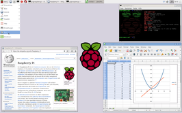 Raspberry Pi LXDE-desktop