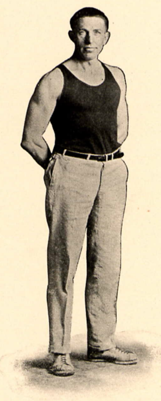 Ray B. McCandless - McCandless pictured in The Key 1924, Bowling Green yearbook