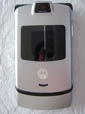 Motorola Razr - The Verizon Wireless version of the Razr