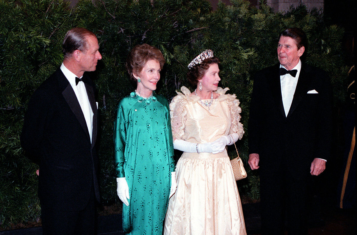 Queen, Prince, and Reagans