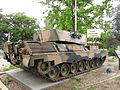 Rear view of Leopard 1 near the site of the Canberra Services Club Nov 2012.JPG