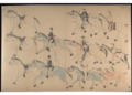 Red Horse pictographic account of the Battle of the Little Bighorn, 1881. 9300.png