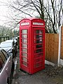 Red Phone Box by Entwistle station - geograph.org.uk - 399166.jpg