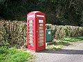 Red Telephone Box, Login, Whitland - geograph.org.uk - 1244408.jpg