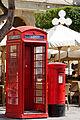Red telephone box and post box Misrah Ir-Repubblika Valletta.jpg