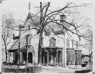 Columbus, Georgia - Redd House, Columbus, Historic American Buildings Survey