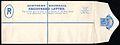 Registered envelope Northern Rhodesia 1924.jpg
