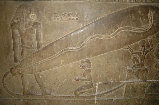Relief von Dendera re