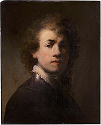 Rembrandt: Self-portrait with breastplate
