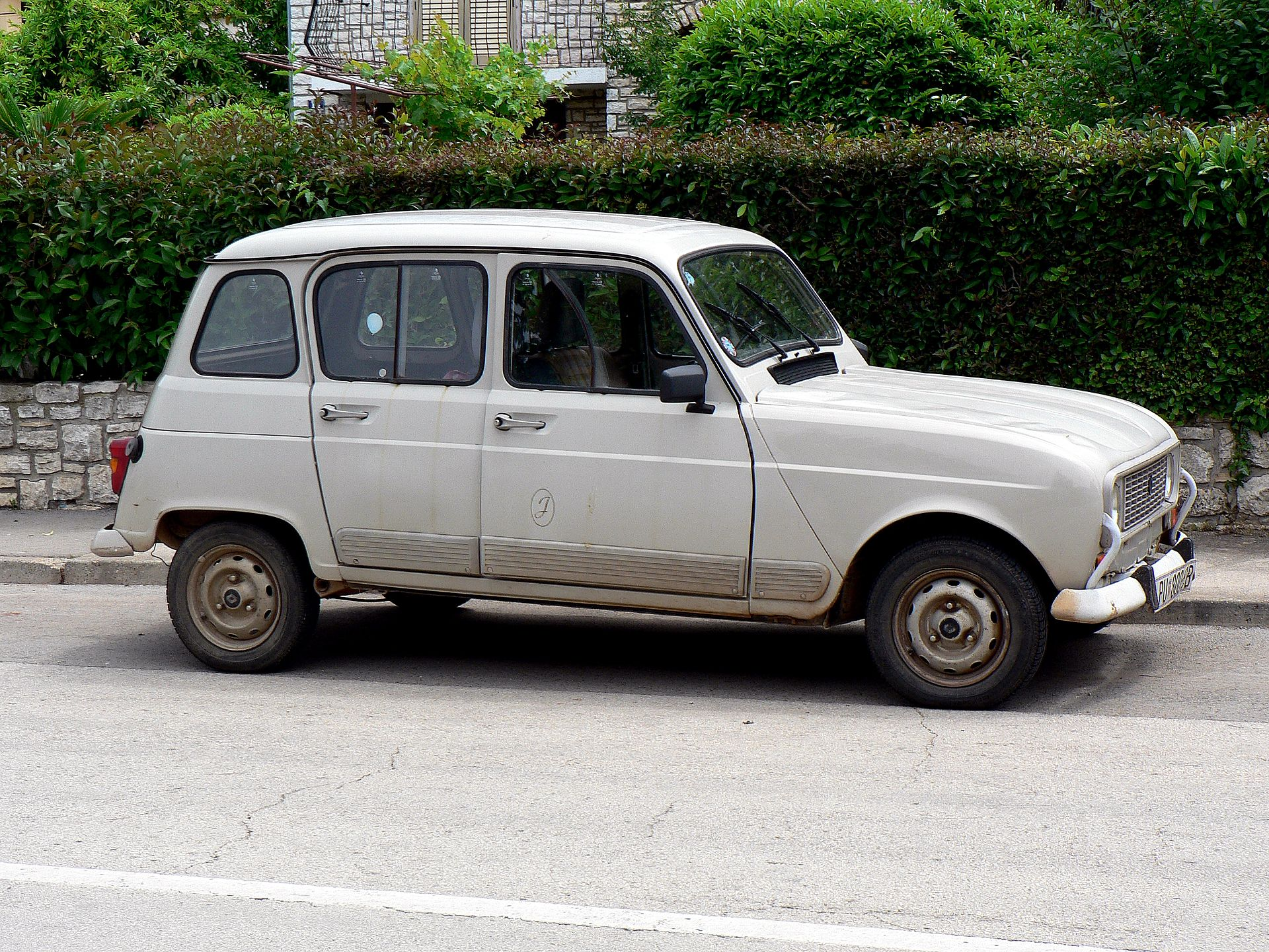 6 Door Truck >> Renault 4 - Wikipedia