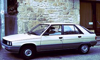 Renault 9 and 11 - Renault 11 (phase 2)