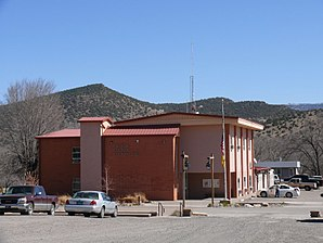 Das Catron County Courthouse in Reserve