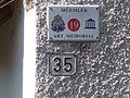 Residential building. Listed ID 10488. Bldg no. 2. József Attila street side. (S). - Csokonai St., Tihany, Hungary.JPG