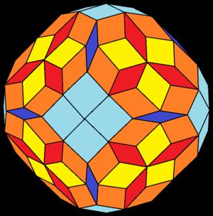 Rhombic hectotriadiohedron - Image: Rhombic hectotriadiohedron type c