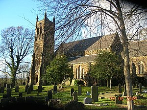 Ridgeway, Derbyshire - Image: Ridgeway 119086 547e 64f 2