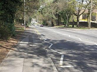 Alderney, Dorset - Image: Ringwood Road, Alderney geograph.org.uk 390661