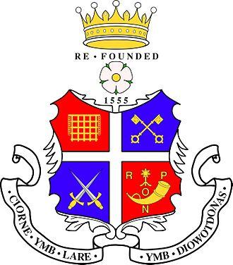 Ripon Grammar School - Image: Ripon Grammar School Logo