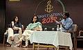 Ritu Kapur (center) at an Amnesty International Event, New Delhi, Joesy Joesph (left).jpg