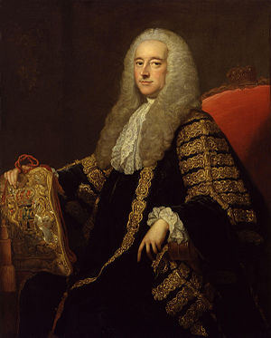 Robert Henley, 1st Earl of Northington - The Earl of Northington by Thomas Hudson.