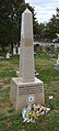 Robert Mosbacher grave - Congressional Cemetery - Washington DC - 2012.jpg