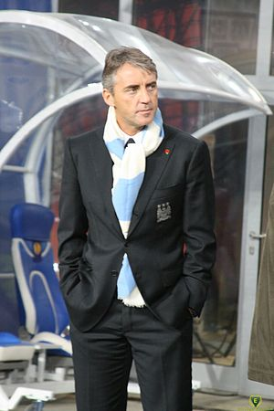 Roberto Mancini - Mancini as Manchester City manager in 2010.
