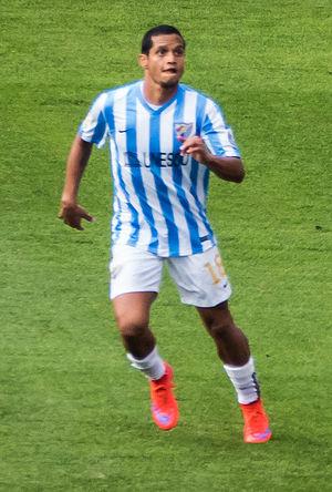 Roberto Rosales - Rosales playing for Málaga in 2015