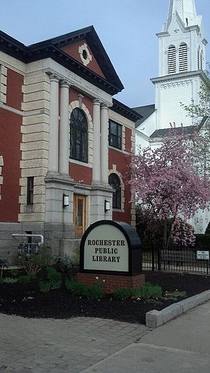 Rochester, New Hampshire - The Rochester Public Library in New Hampshire