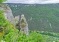 Rock formations near ruins od Blanquefort castle (1).jpg