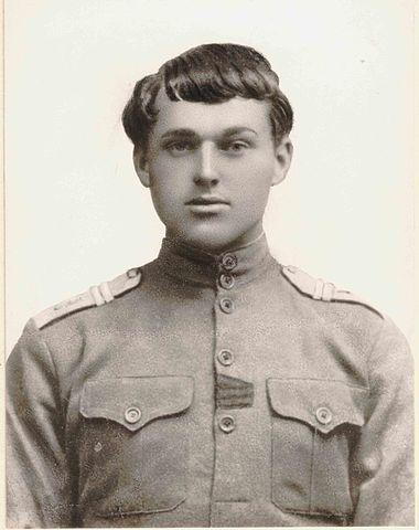 Младший унтер-офицер К.Рокоссовский, 1917 год