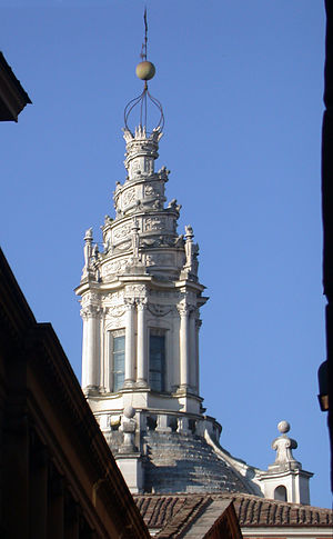 Baroque architecture - Sant'Ivo alla Sapienza by Francesco Borromini