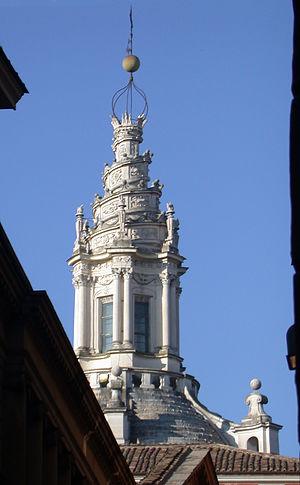 Italian Baroque architecture - Sant'Ivo alla Sapienza: Francesco Borromini