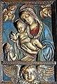 Romania-1926 - Panel of Mary and Jesus (7706994254).jpg