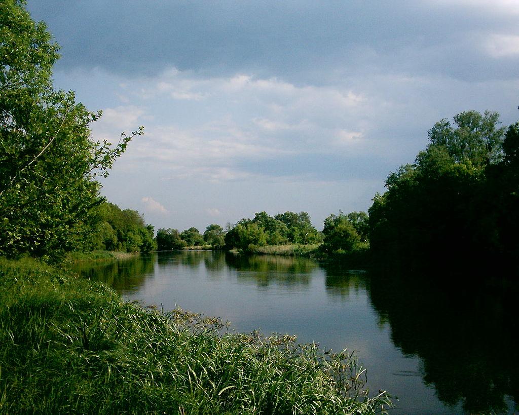 Река Рось в среднем течении