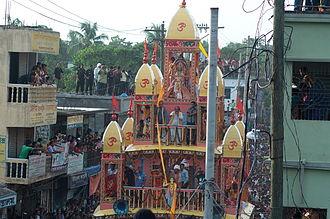 Dhamrai Rathayatra - Roth Procession