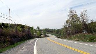 Quebec Route 222 - Route 222 in Racine