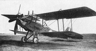 No. 105 Squadron RAF - Image: Royal Aircraft Factory RE8 2