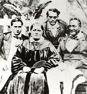 Pōmare Dynasty - Royal Family of Tahiti, 1864.