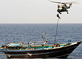 Royal Marines Fast Rope Onto Dhow MOD 45150378.jpg