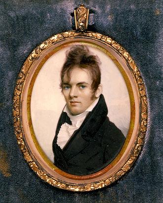 Royal Ralph Hinman - Portrait of Hinman by Anson Dickinson